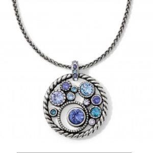 Brighton Tanzanite Halo necklace